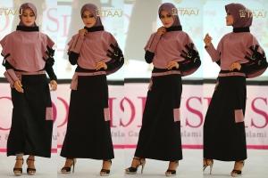 Kerudung Taaj, Jilbab Taaj, kerudung instan, Jilbab instan, Kerudung cantik, kerudung syar'i, jilbab panjang, steampunk, indonesia fashion designer